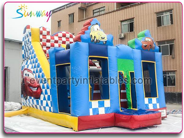 The Cars bouncer and slide SG-103