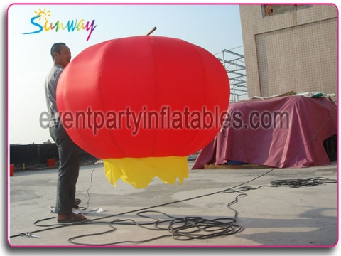 Inflatable lantern with LED lights SCI-060