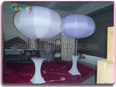 Inflatable LED sphere with tripod SCI-049