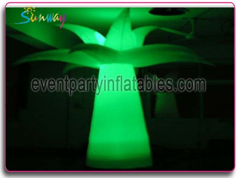 Inflatable LED tree