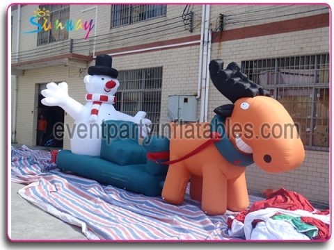 Inflatable christmas deer CH-067