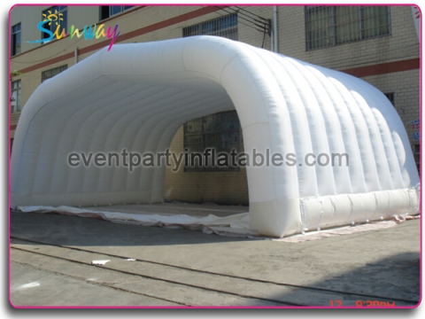 Inflatable air roof